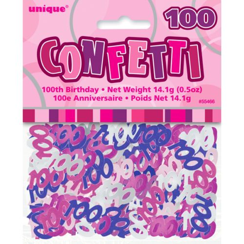Pink Confetti 100 Years