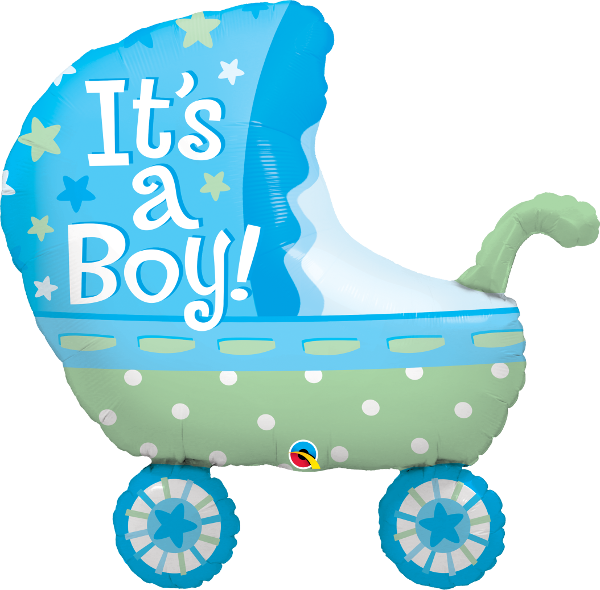 43285 it s a boy baby stroller Happy Birthday birthday clip art for women blonde