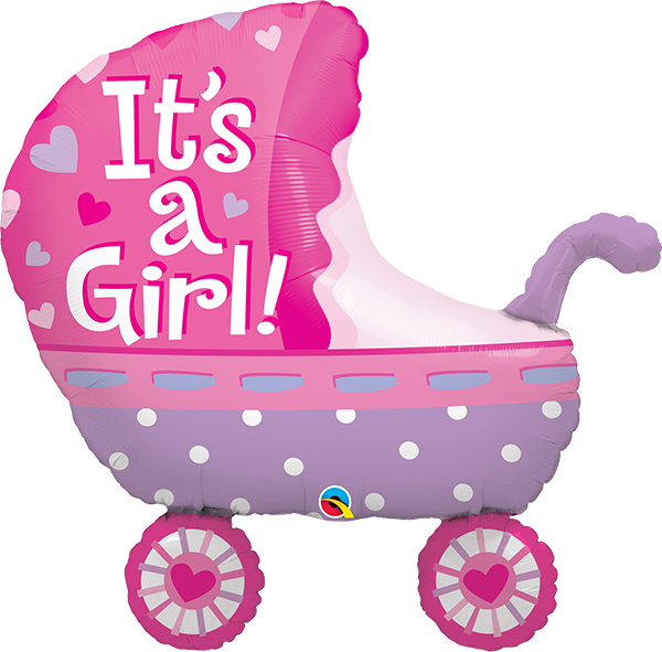 43289 It S A Girl Baby Stroller