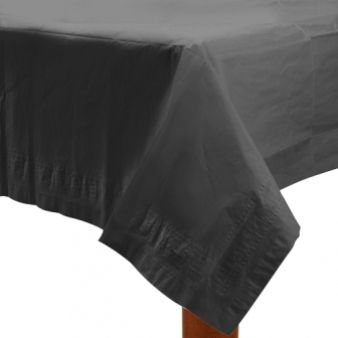 Black Paper Tablecover