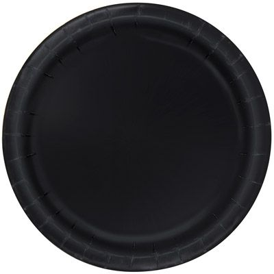 Midnight Black 22cm Plates