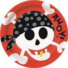 Pirate Fun 22cm Plates
