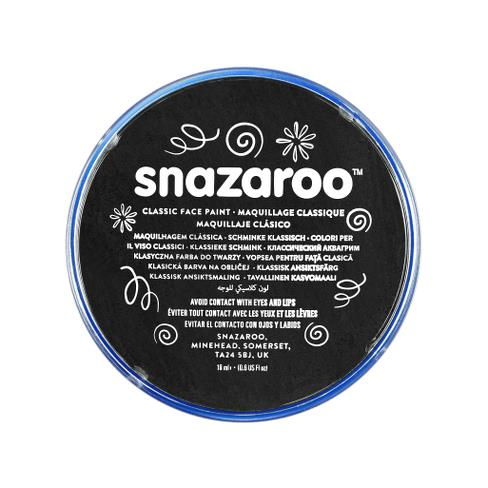 Snazaroo - Paint - Black