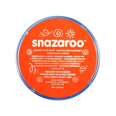Snazaroo - Paint - Dark Orange