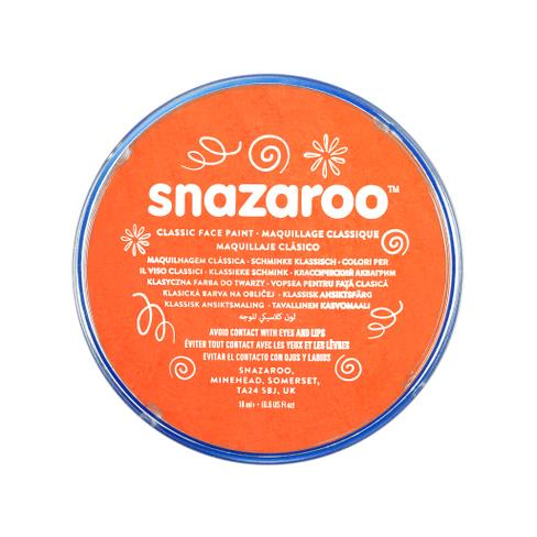 Snazaroo - Paint - Orange